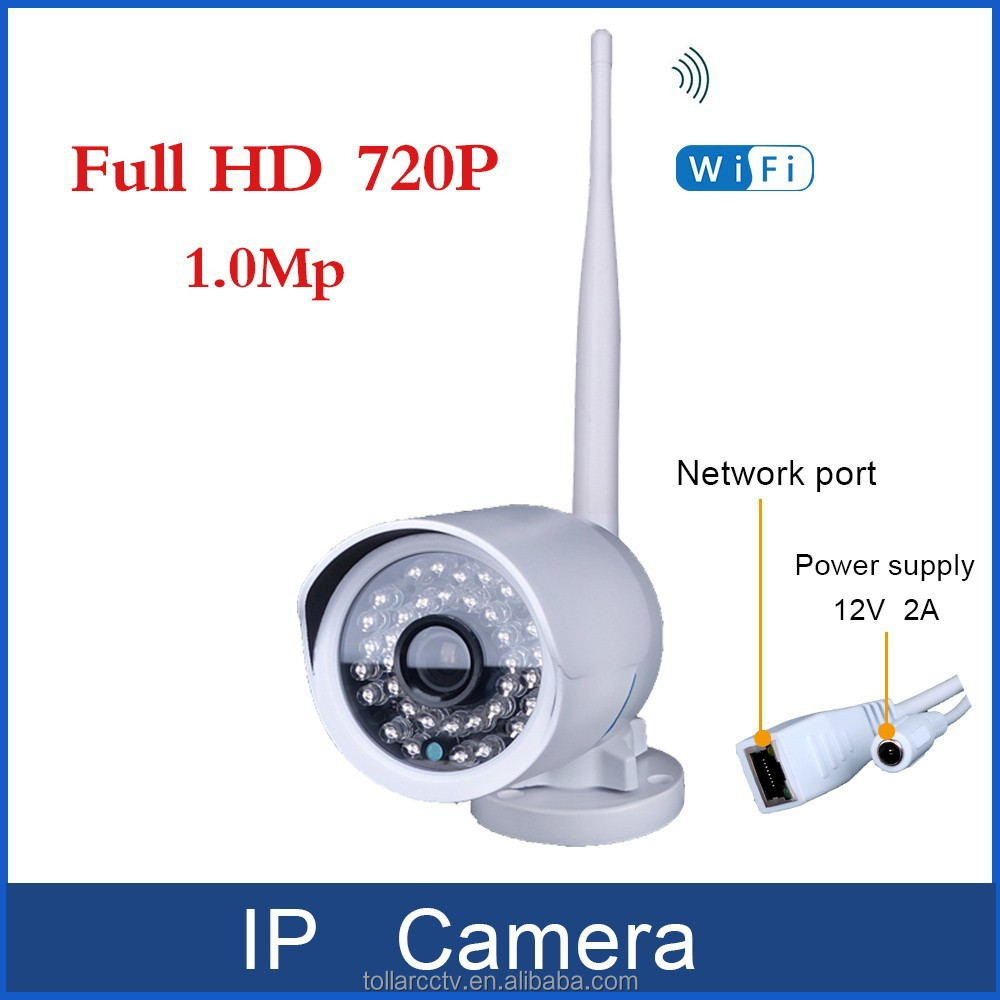 TL-MBRW-02 720P HD IP network home security day ir night wifi metal outdoor bullet low cost wifi ip camera