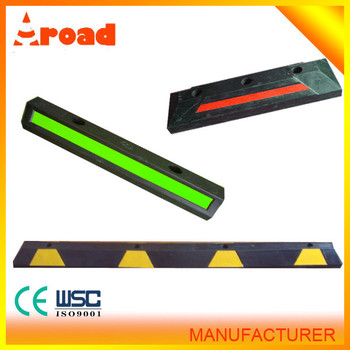 High Quality 1830 mm Rubber Wheel Stopper / Car Parking Stopper
