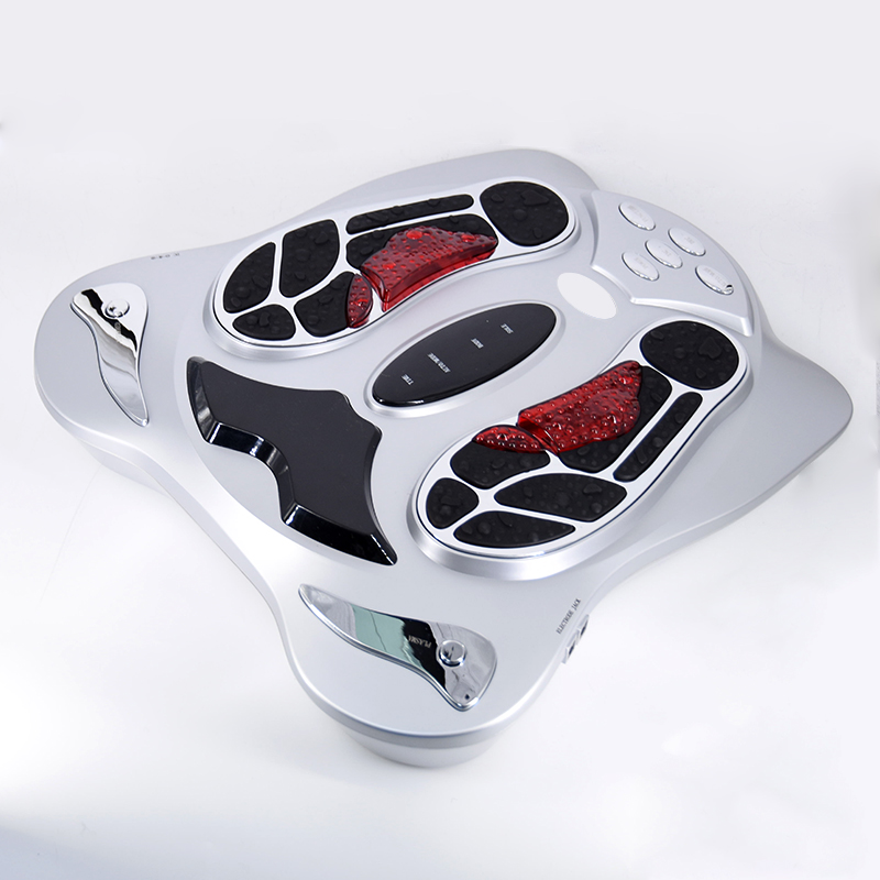 Chinese reflexology pulse body leg care blood circulation massage tools EMS electric foot massager machine