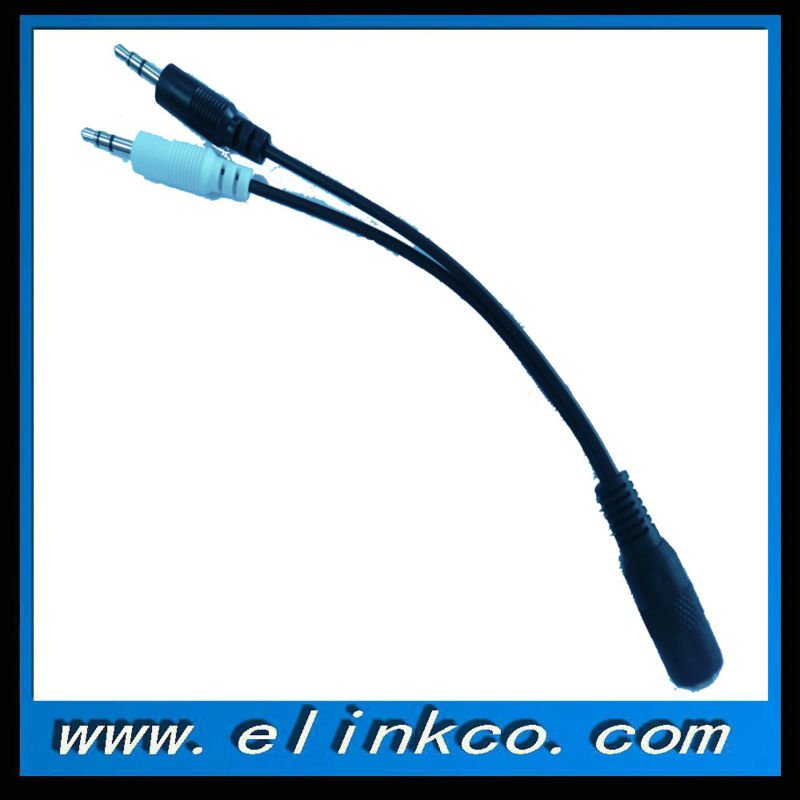 3.5mm Stereo Y-splitter Cable