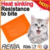 RENJIA pet feeding mat pet food placemat silicone cat mat