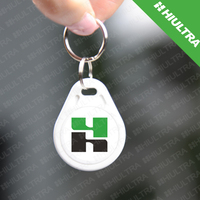 ID key fob tags ABS Key Chain for access control, time attendance,gym,Club