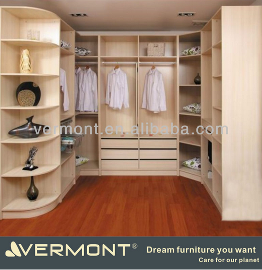 2016 Space save open wardrobe design