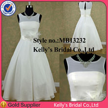 customer order straps with feather belt wedding gowns tea length chiffon wedding dresses formal dresses