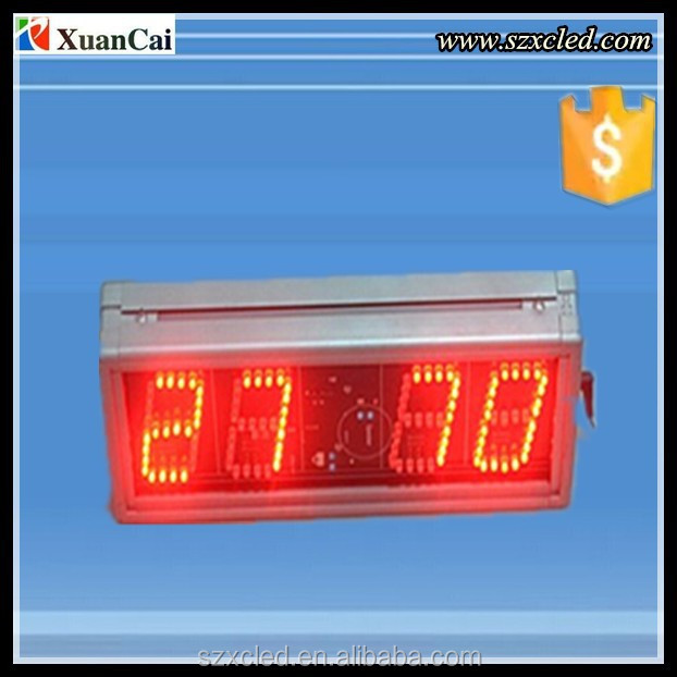 8888 Led Scoreboard sign/display with time,alarm function
