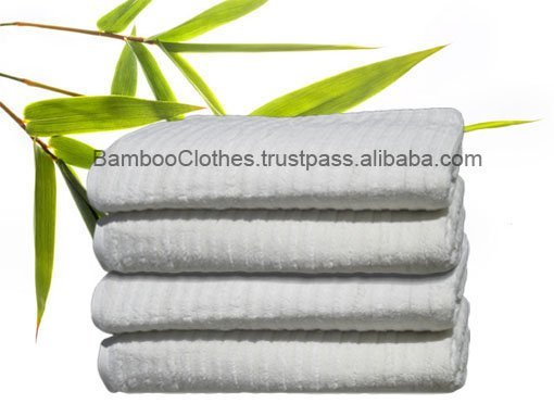 Bamboo fiber Towel 880G Striped