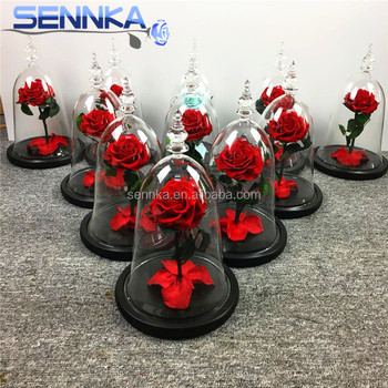 Beautiful Fresh and Natural Preserved Rose in Glass Jar Exporting Form Yunnan China