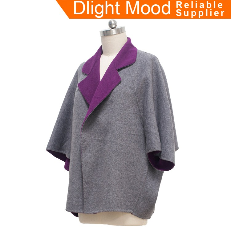 Most popular woolen coat for women,short woman woolen coat
