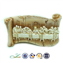 Wholesale Custom Religious Table Decoration Resin Last Supper Sculpture