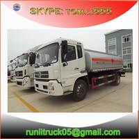 China oil truck manufacture direct sale for dongfeng kinrun DFL1160 4*2 15000L fuel tank truck sale in iran