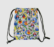 Customized high quality cotton drawstring bag with low price