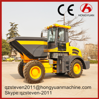 Hot sale 4WD site Dumper Rated bucket capacity 4 CBM