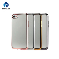 Wholesale Price Electroplating Phone Cover for iPhone 8 Plus Soft TPU Case