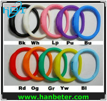 Wholesale promotional unisex gift silicone watch colorful with water resistant