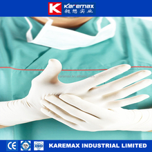 Disposable latex medical gloves