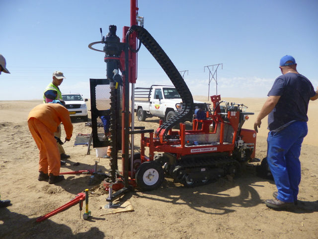The Terrier Multipurpose Drilling Rig (Dando Drilling International)