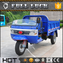 3 wheels motorcycle truck tricycle with wind shield
