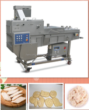 Chicken Nuggets/Patty Preduster Flouring Coating Making Machine
