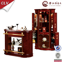 Diagonal corner bar wine cabinet