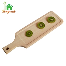 Wholesale Handle Kitchen Wooden Pizza Serving Tray Cheap Paddle Cutting Boards