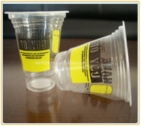 Clear 16oz cheap disposable plastic cups