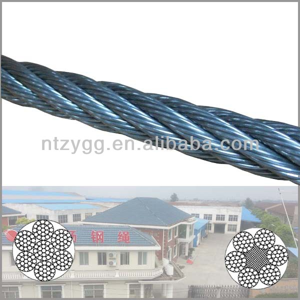 galvanized steel wire rope 8mm lashing push pull galvanized steel wire rope 10mm