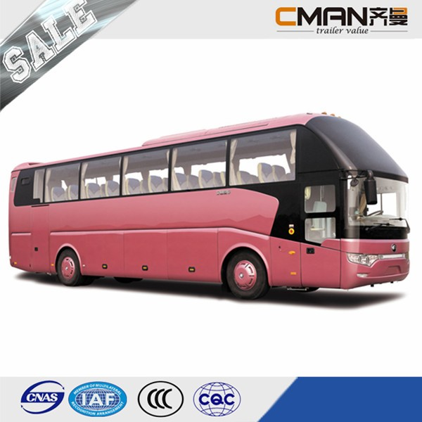 New Condition 12m Length 51+1+1Seats Luxury Coach Bus Sale