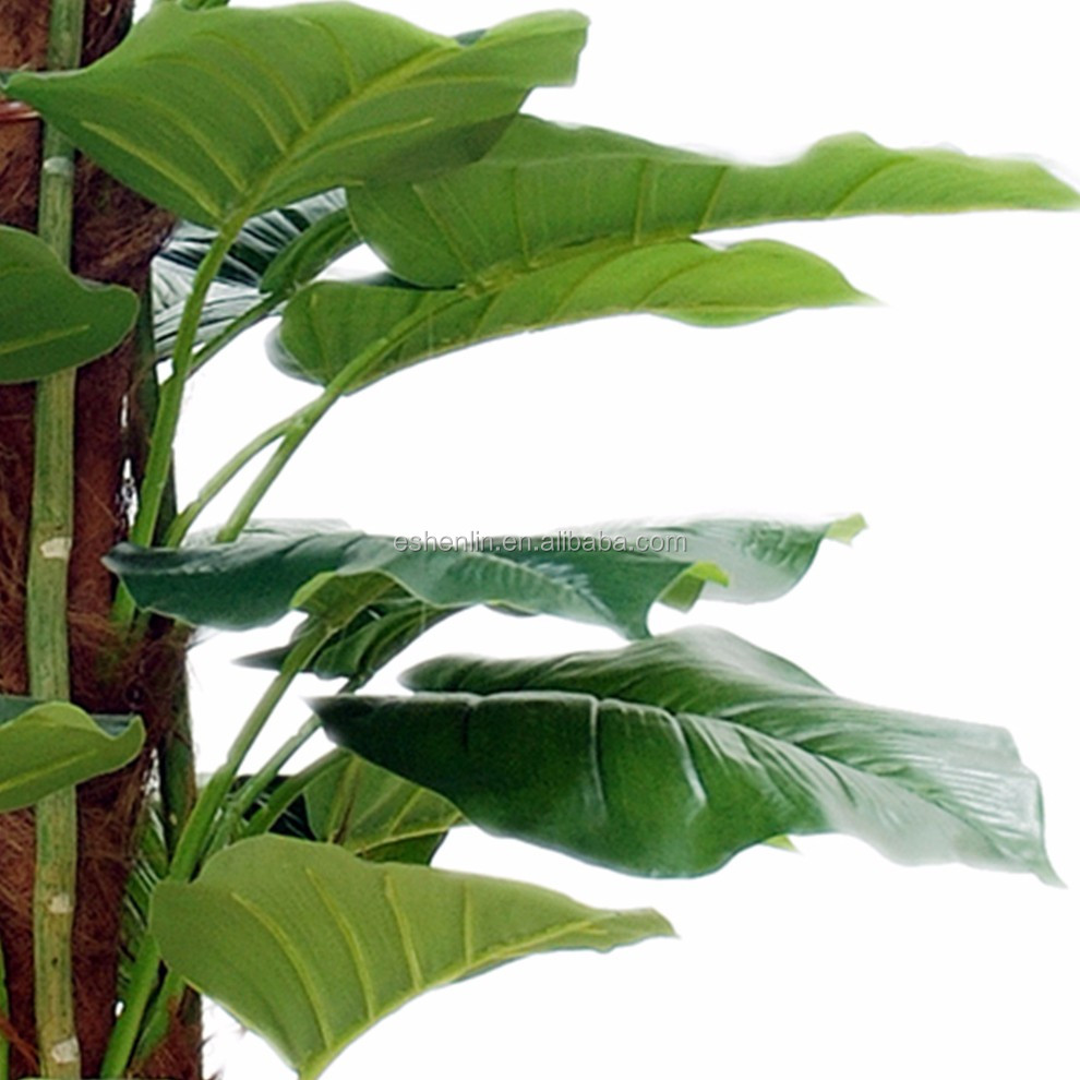 Interior green real look artificial plant for decorating for Artificial plants for interior decoration