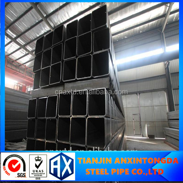 steel square tube /steel square pipe 10mm carbon square tubes usa quality