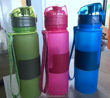Foldable Silicone Powerade Sports Drink Water Bottle