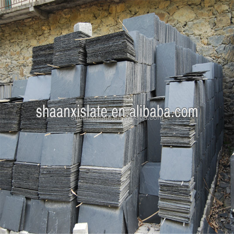 blue slate roofing shingle