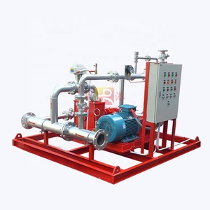 balanced pressure proportioning firefighting foam pump set/system, maintains equal pressure when mixing foam and water