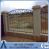 used ornamental high security cemetery wrought iron/steel and aluminum fence with rings for sale