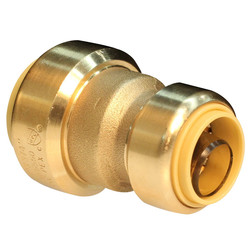 LB-GutenTop Lead free brass UPVC Reducing coupling push fit fitting