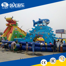 big customized water slide / Inflatable Water Slide for sale
