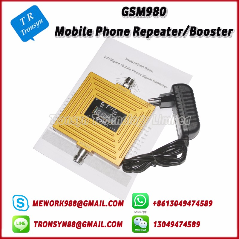 Hot Sale GSM Mobile Phone Signal Booster With LCD Display And Support GSM 900Mhz