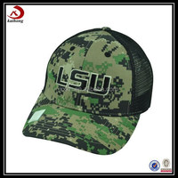 Embroidered Military Custom Baseball Hats No Minimum Military Baseball Cap with Eagle