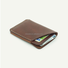 Hot Sale Handmade Business Leather Card Holder ID Credit Card Hold