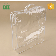 High quality pvc plastic soft quilt packaging bag for blanket