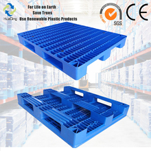 Heavy duty double deck available to stack plastic pallet