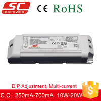 DALI DIP adjustment constant current led dimming small size driver for led bulbs