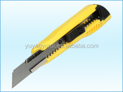 18mm snap-off cutter, economical industrial safety knife