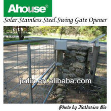 Solar Powered Swing Gate Operator (CE) , Remote Swing Gate Operator, Auto Swing Gate Operator