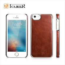 Genuine Leather Back Cover for iPhone 5 SE Case