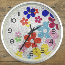 5D diy clock diamond painting embroidery kit