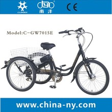 GW7015E electric cargo tricycle for disabled/electric bicycle