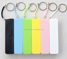 Quality 2600mah Perfume Portable Mobile Phone Power Bank External Emergency Battery Charger