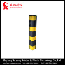 Economic round angle rubber protector for wall protection