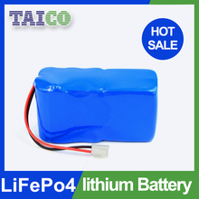 Rechargeable lifepo4 18650 12v 12ah Lithium battery for solar lights