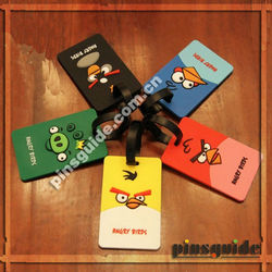 Make Your Own Soft 2D ATBC-PVC Bird Clear Plastic Luggage Tags With Different Types
